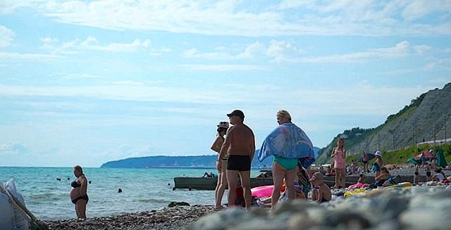 Пляж в Дедеркой