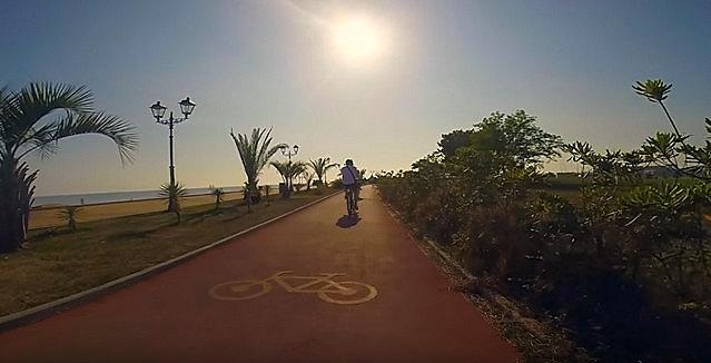 Велодорожка в Адлере